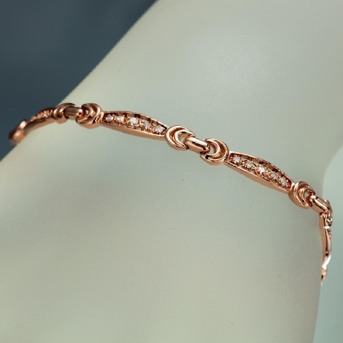 APP: 3.3k *Fine Jewelry 14KT Rose Gold, 0.50CT Round