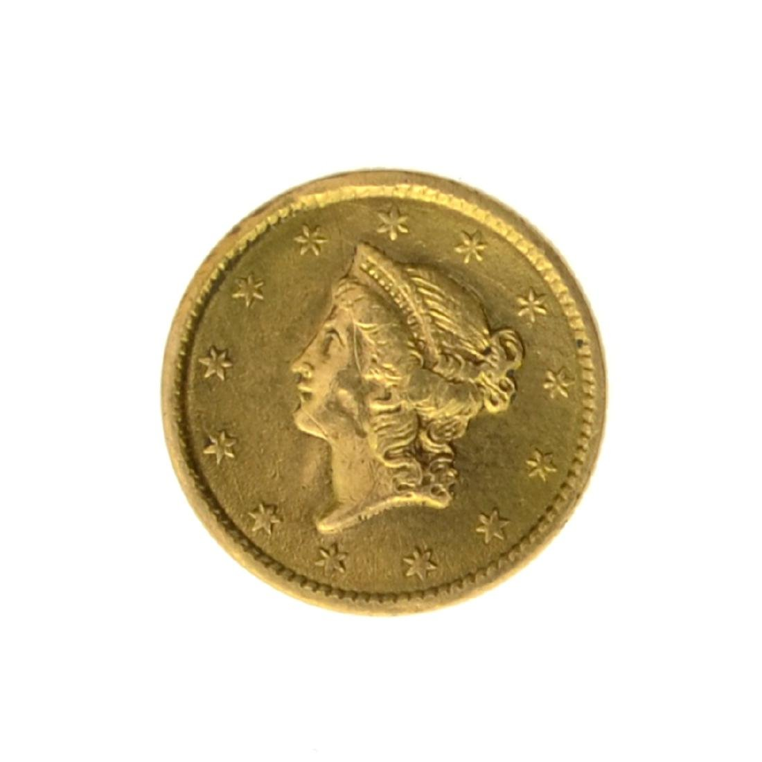 *1851 $1 U.S. Liberty Head Gold Coin - Great Investment