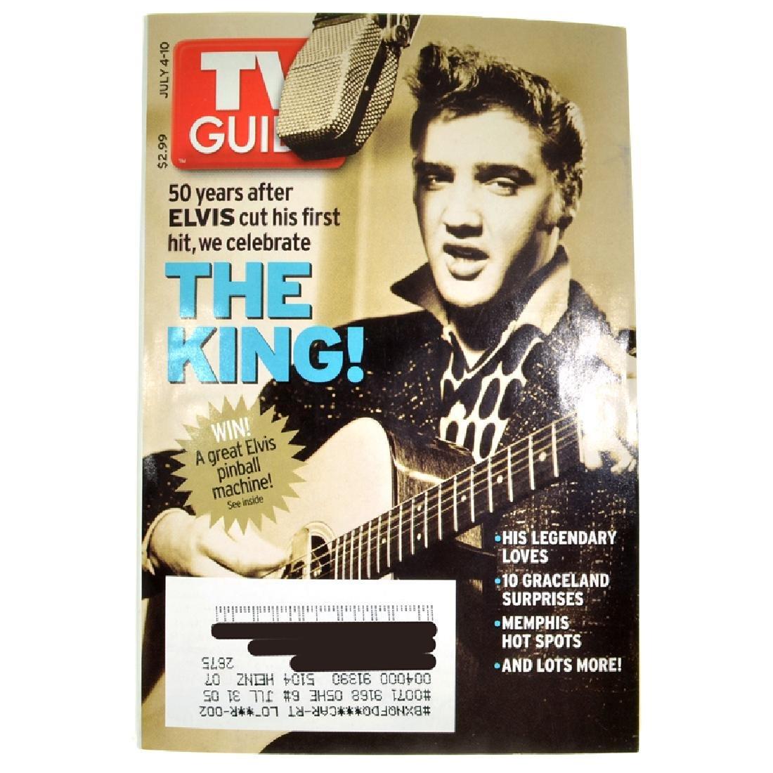 Rare Elvis Presley TV Guide Edition