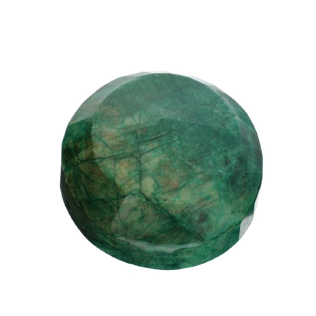 APP: 8.5k 2,126.00CT Round Cut Green Beryl Emerald