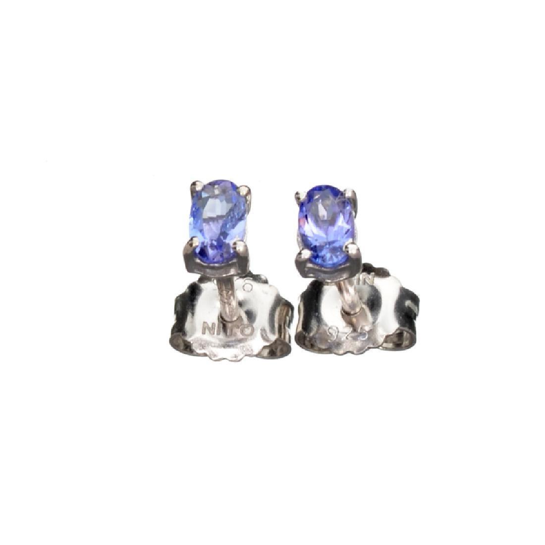 APP: 0.5k Fine Jewelry 0.50CT Oval Cut Tanzanite And