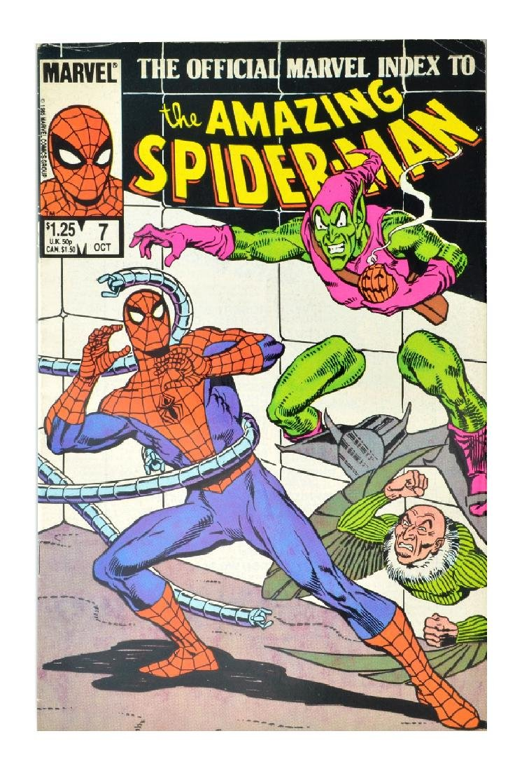 Official Marvel Index to Amazing Spider-Man (1985)