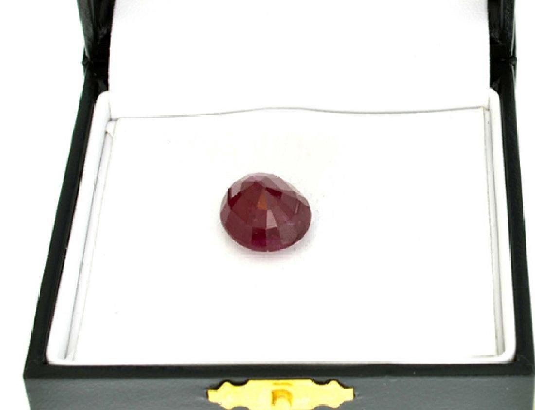 APP: 3.5k 15.21CT Oval Cut Ruby Gemstone - 2