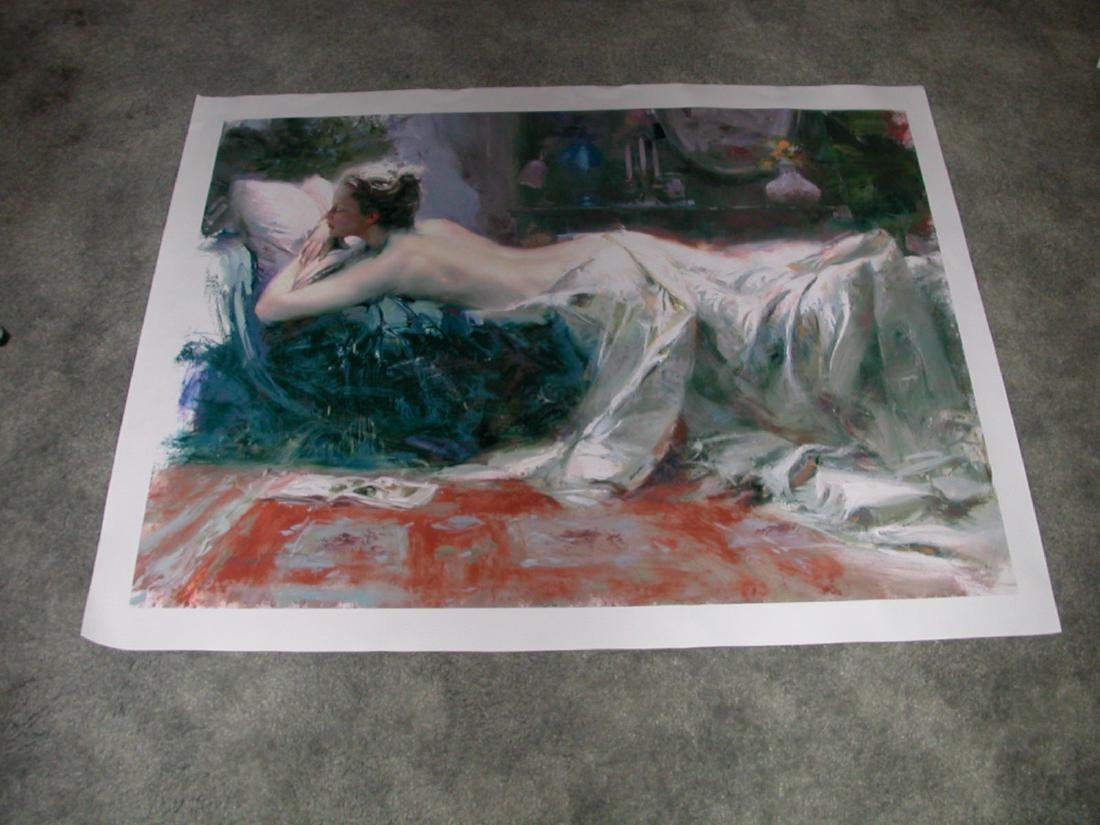 Mystic Dream' by Pino Hand Signed and Numbered 30x40