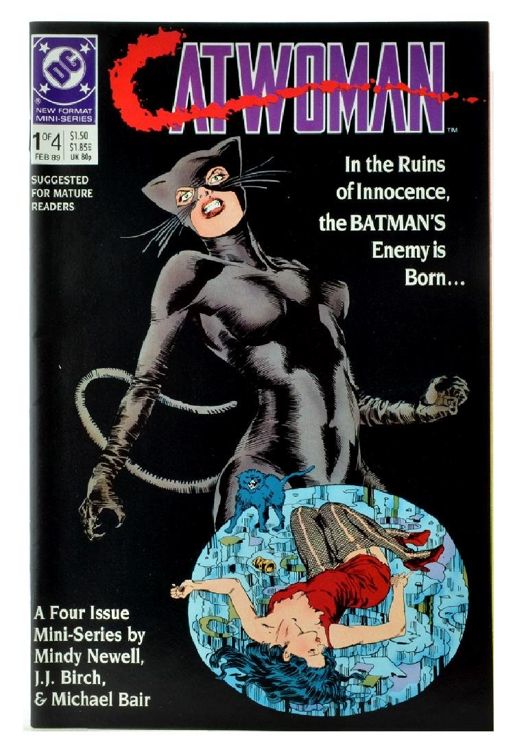 Catwoman (1989 1st Series) Issue 1