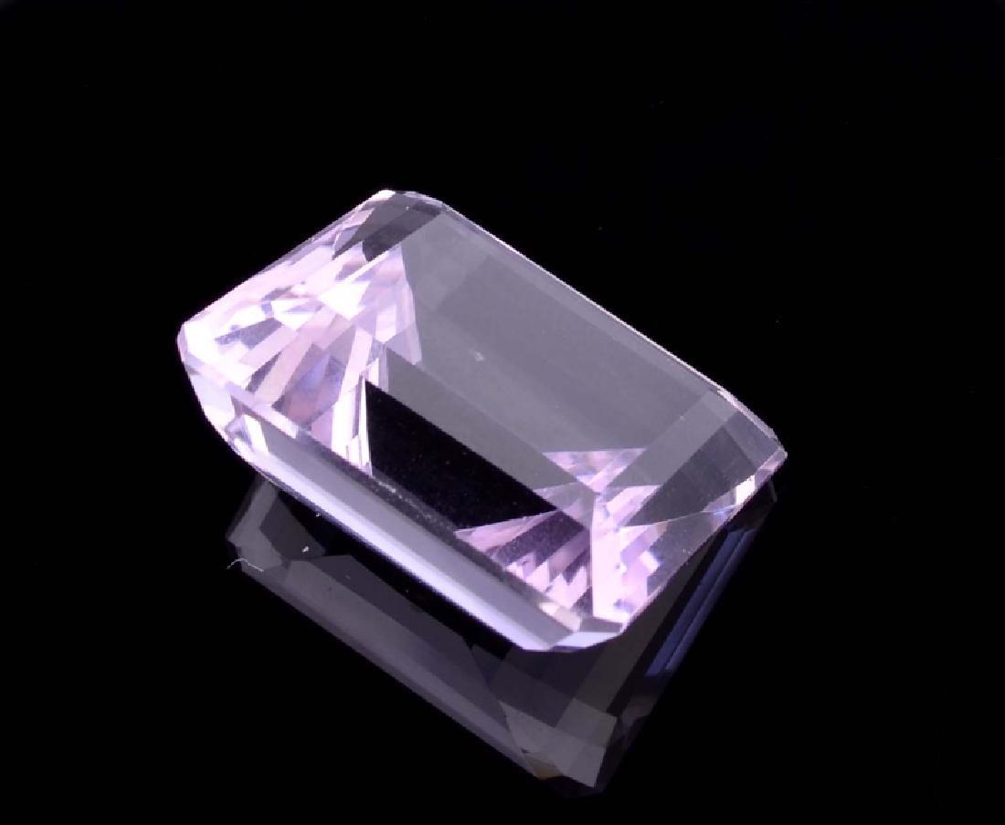 APP: 0.8k 39.00CT Emerald Cut Light Purple Amethyst