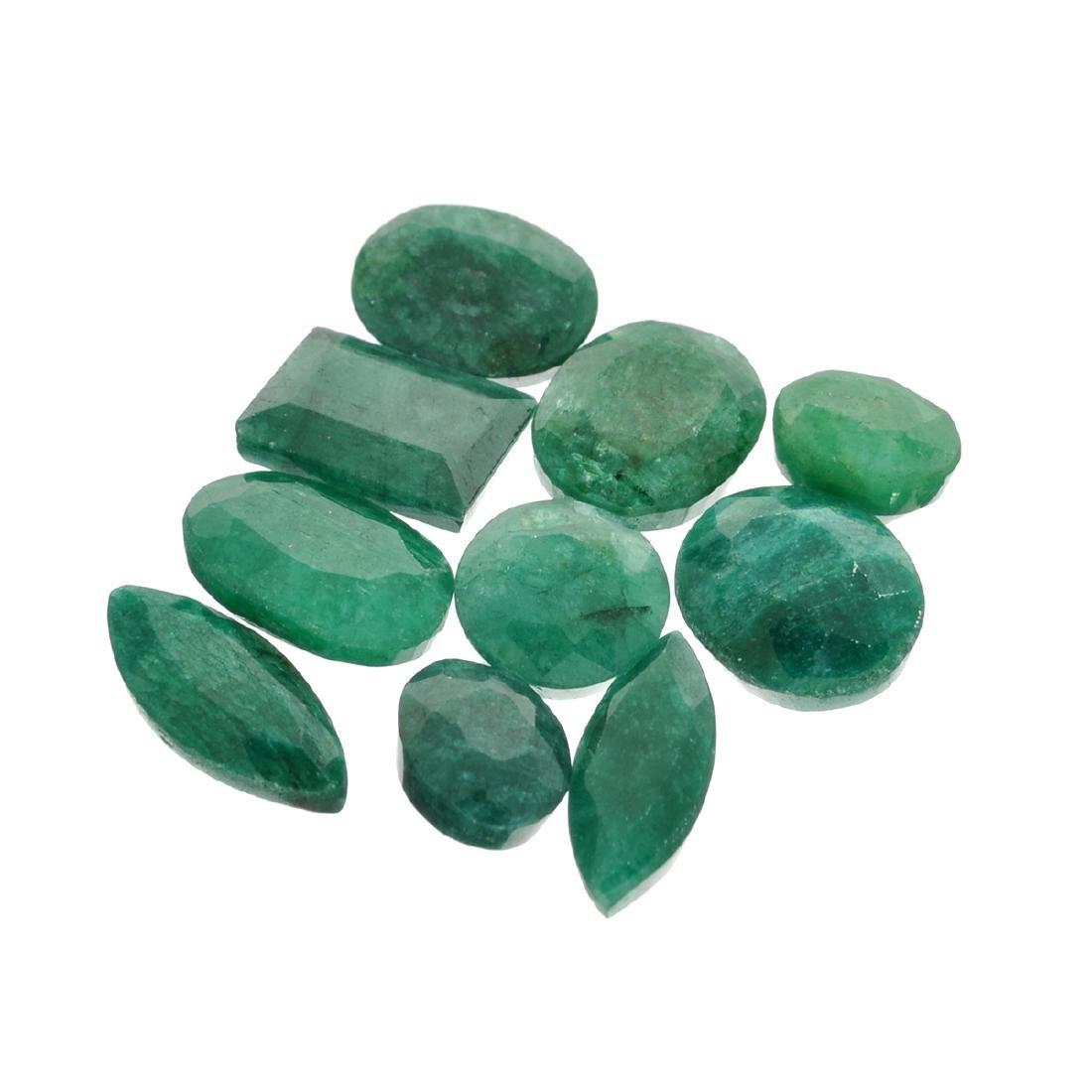 APP: 4.1k 54.56CT Green Emerald Parcel