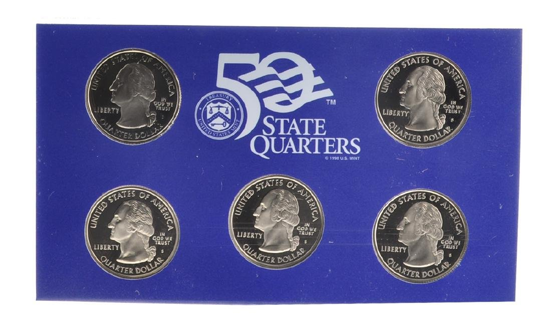 2004 United States Mint Proof Coin Set