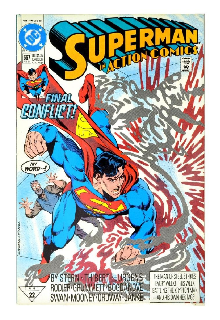 Action Comics (1938 DC) Issue #667