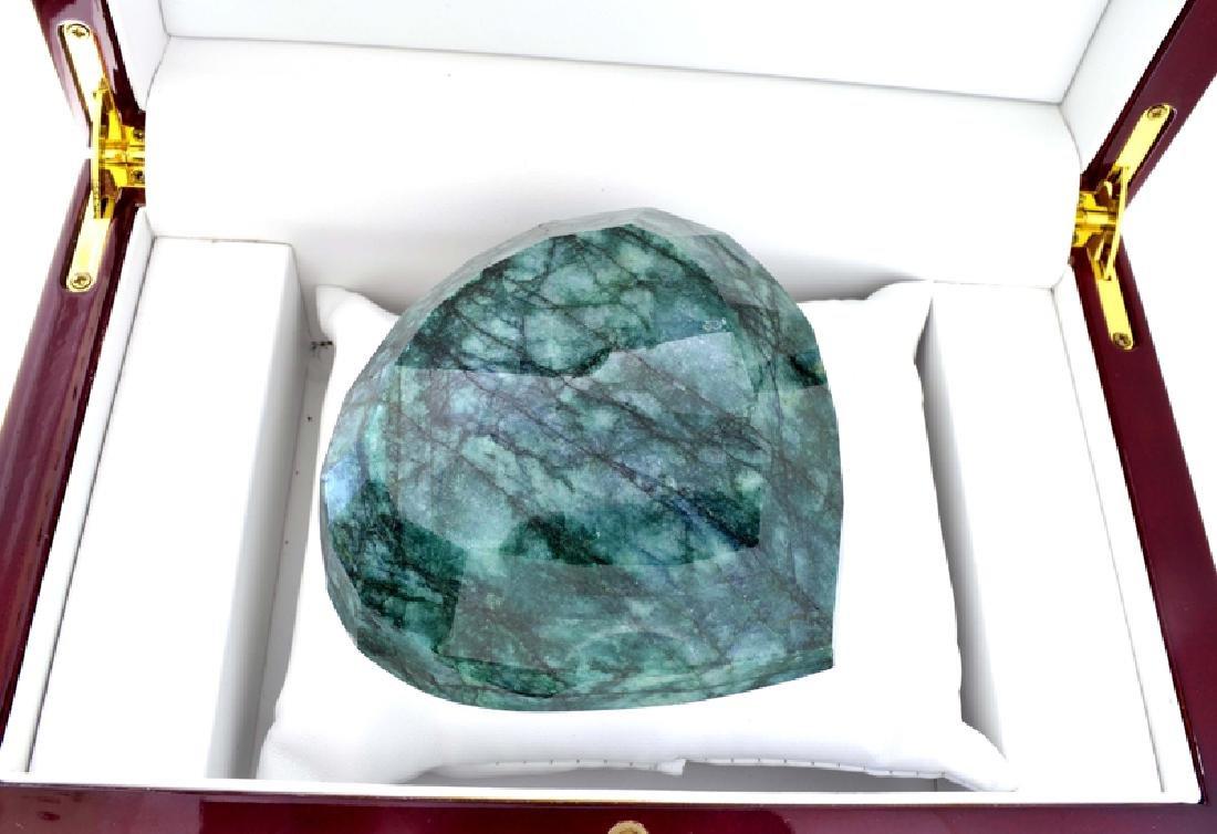 APP: 33.1k 1837.40CT Pear Cut Green Beryl Gemstone - 2