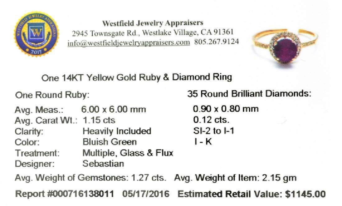 APP: 1.1k Fine Jewelry Designer Sebastian 14KT Gold, - 2