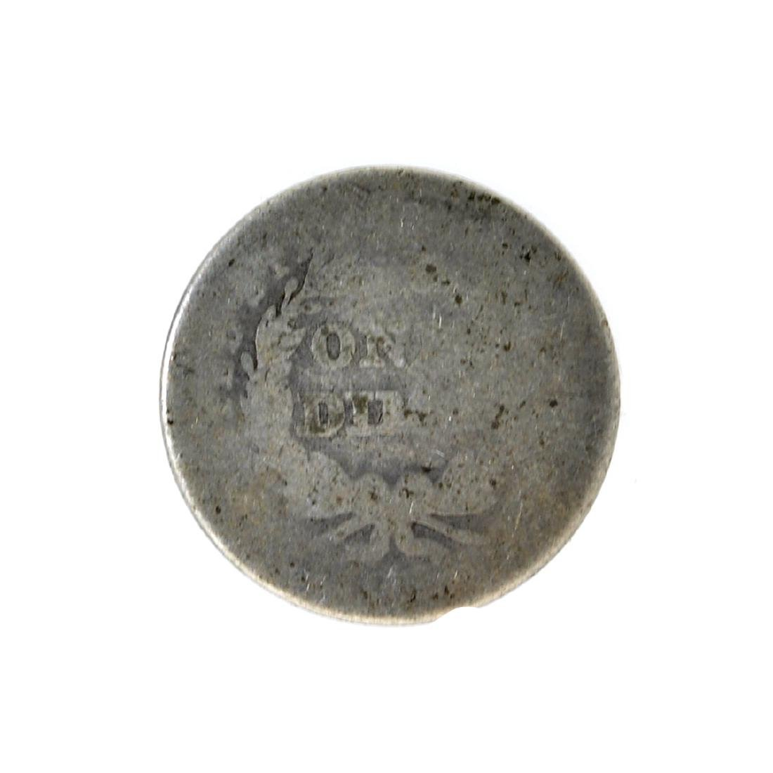 1839 Liberty Seated Dime Coin - 2