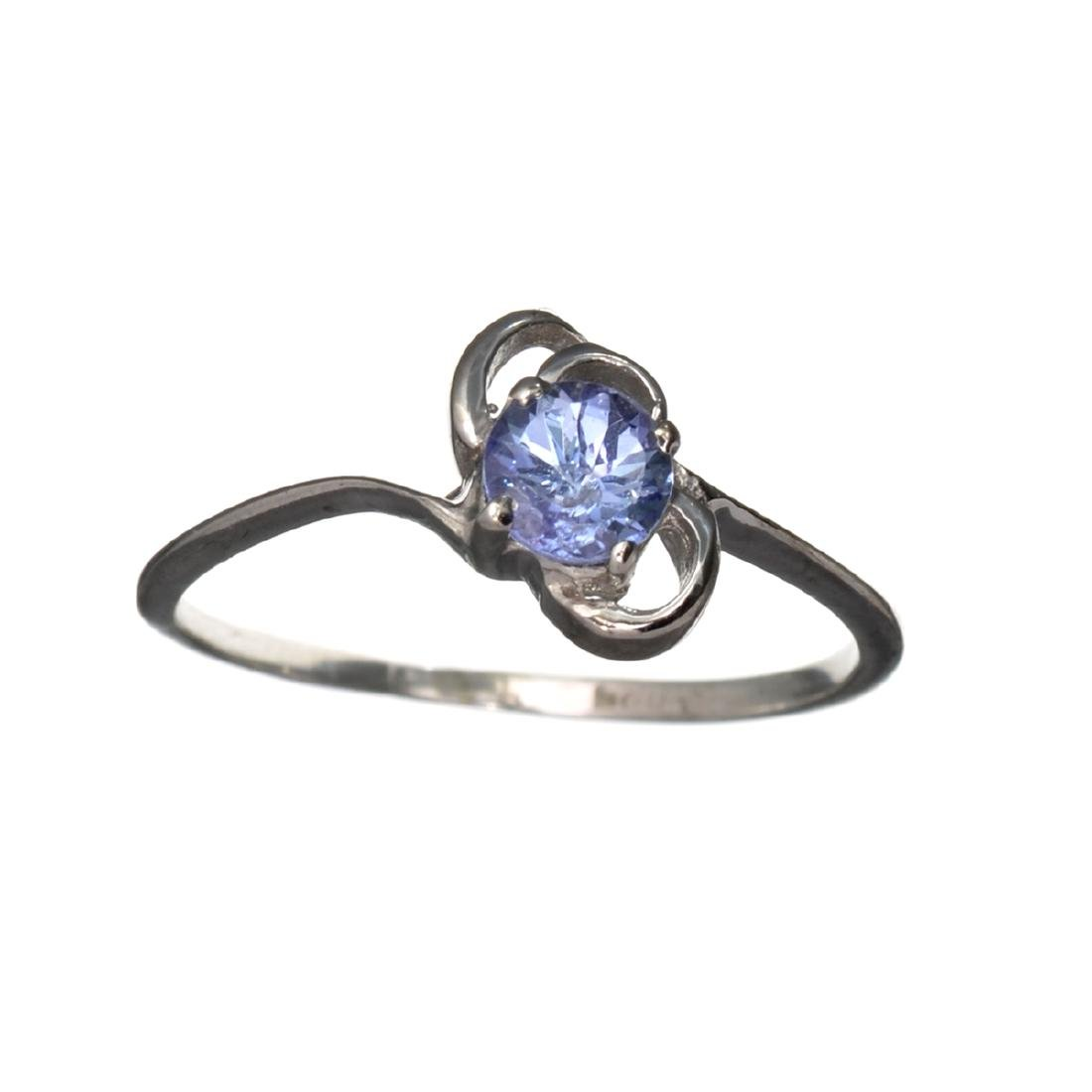 APP: 0.7k Fine Jewelry 0.31CT Round Cut Tanzanite And