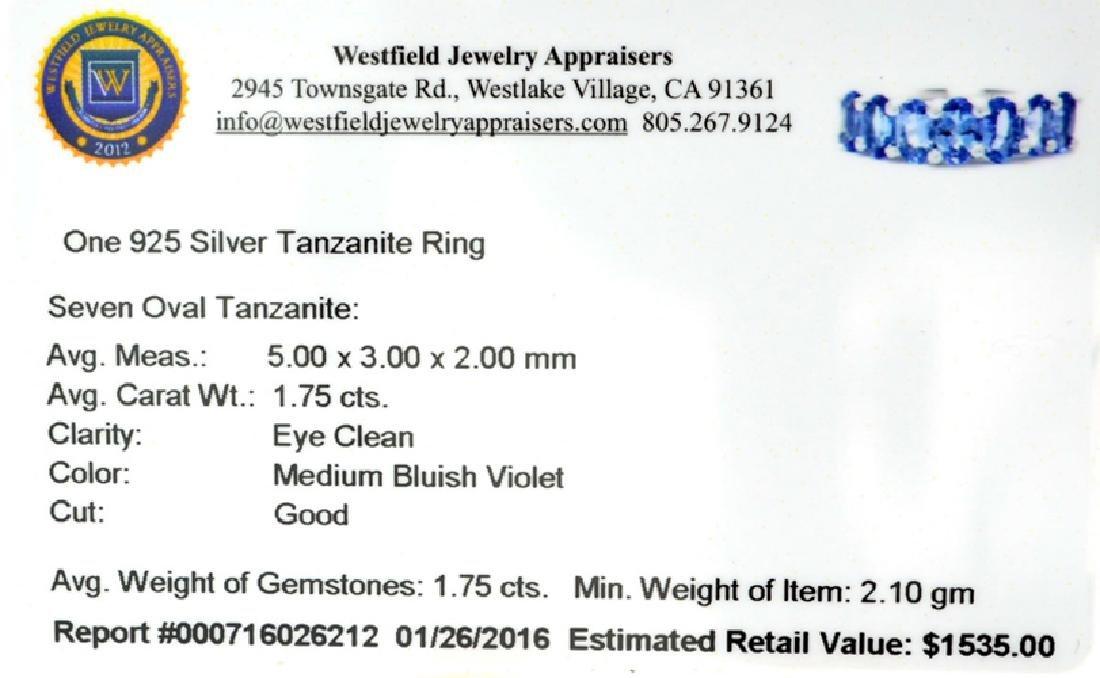 APP: 1.5k Fine Jewelry 1.75CT Oval Cut Tanzanite Over - 2