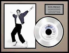 1232: ELVIS PRESLEY ''Jailhouse Rock'' Platinum LP