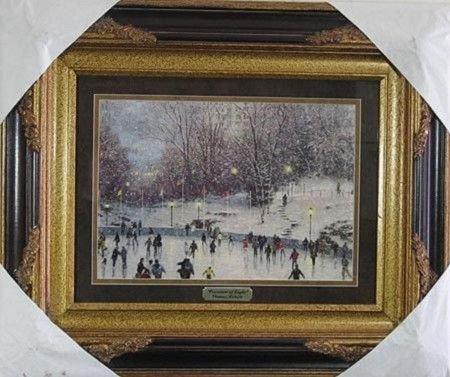 1226: GOV: Kinkade - Museum Framed Calendar Print