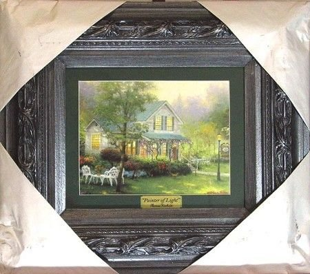 1244: GOV: Kinkade - Medium, Museum Framed Calendar Pri