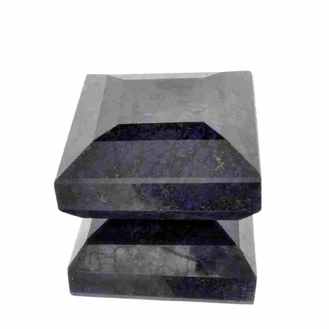 APP: 10.3k 2,062.00CT Rectangle Cut Blue Sapphire