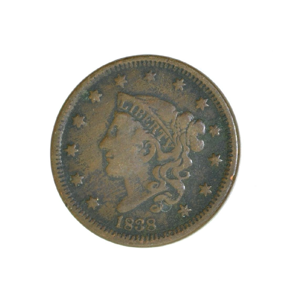 *1838 Large Cent Coin (JG)