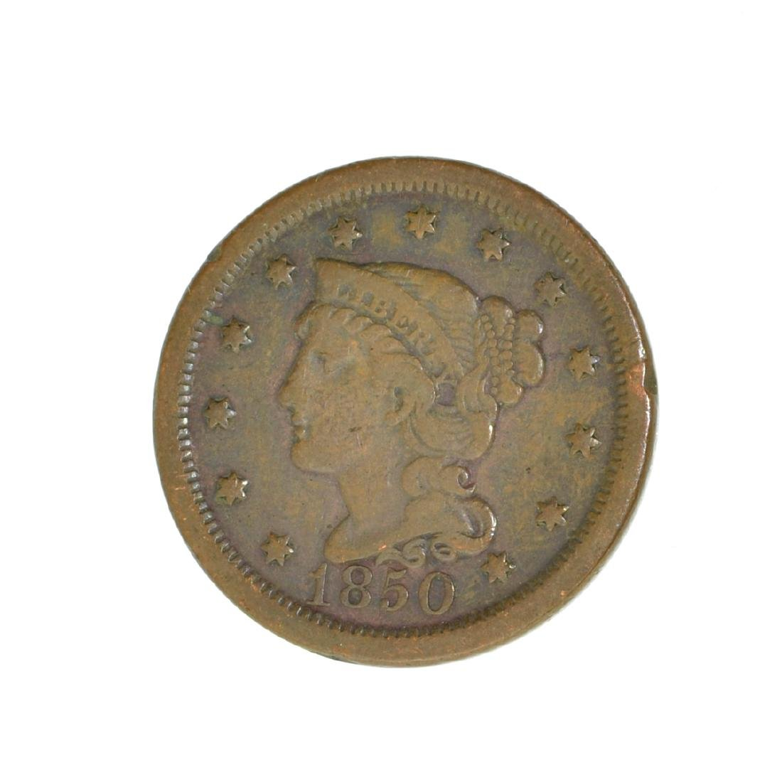 *1850 Large Cent Coin (JG)
