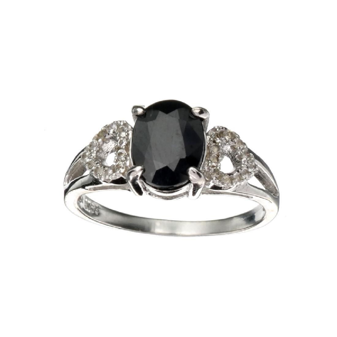 APP: 0.7k Fine Jewelry 1.75CT Blue Sapphire And