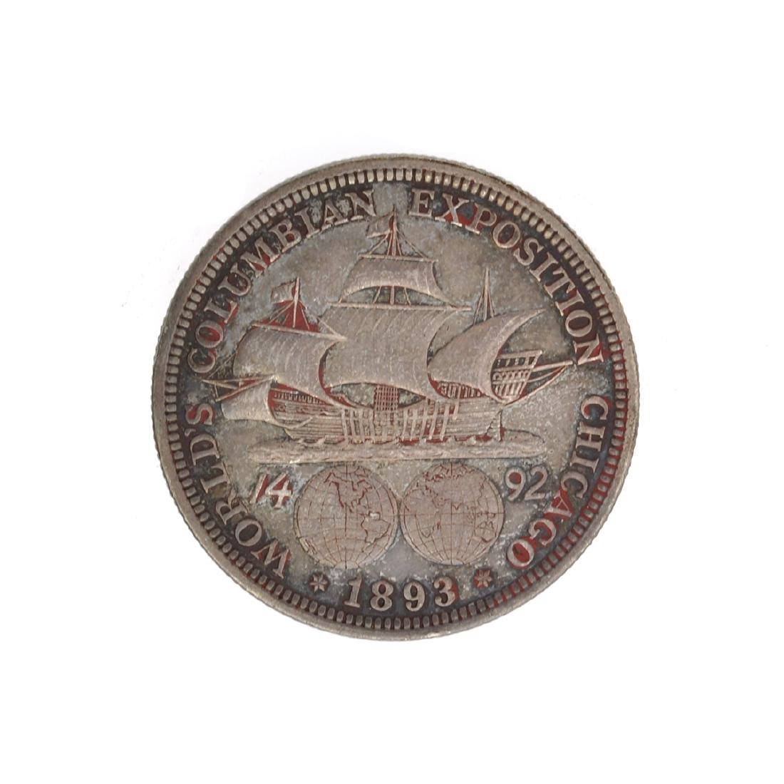 1893 Columbian Commemorative  Half Dollar Coin - 2