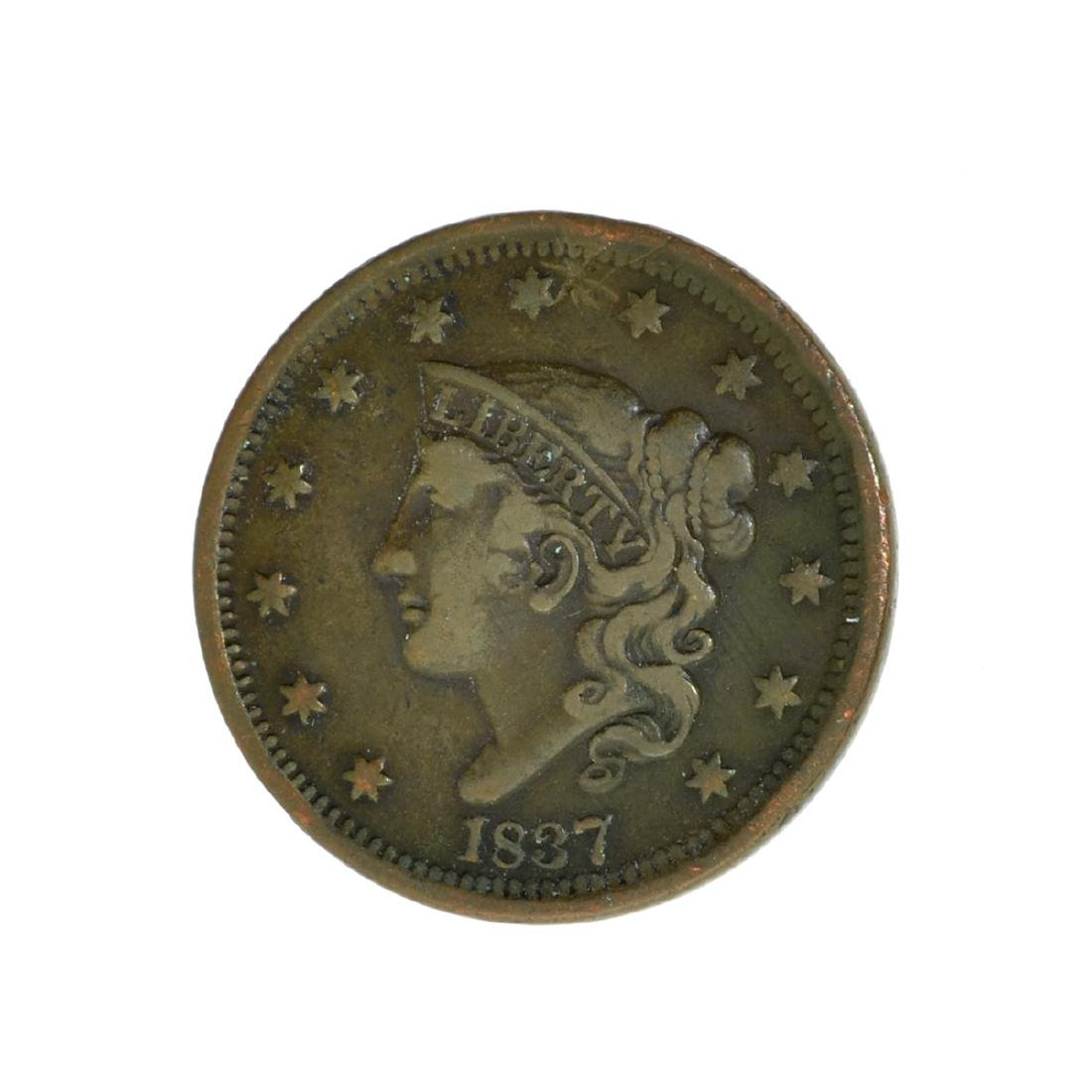*1837 Large Cent Coin (JG)