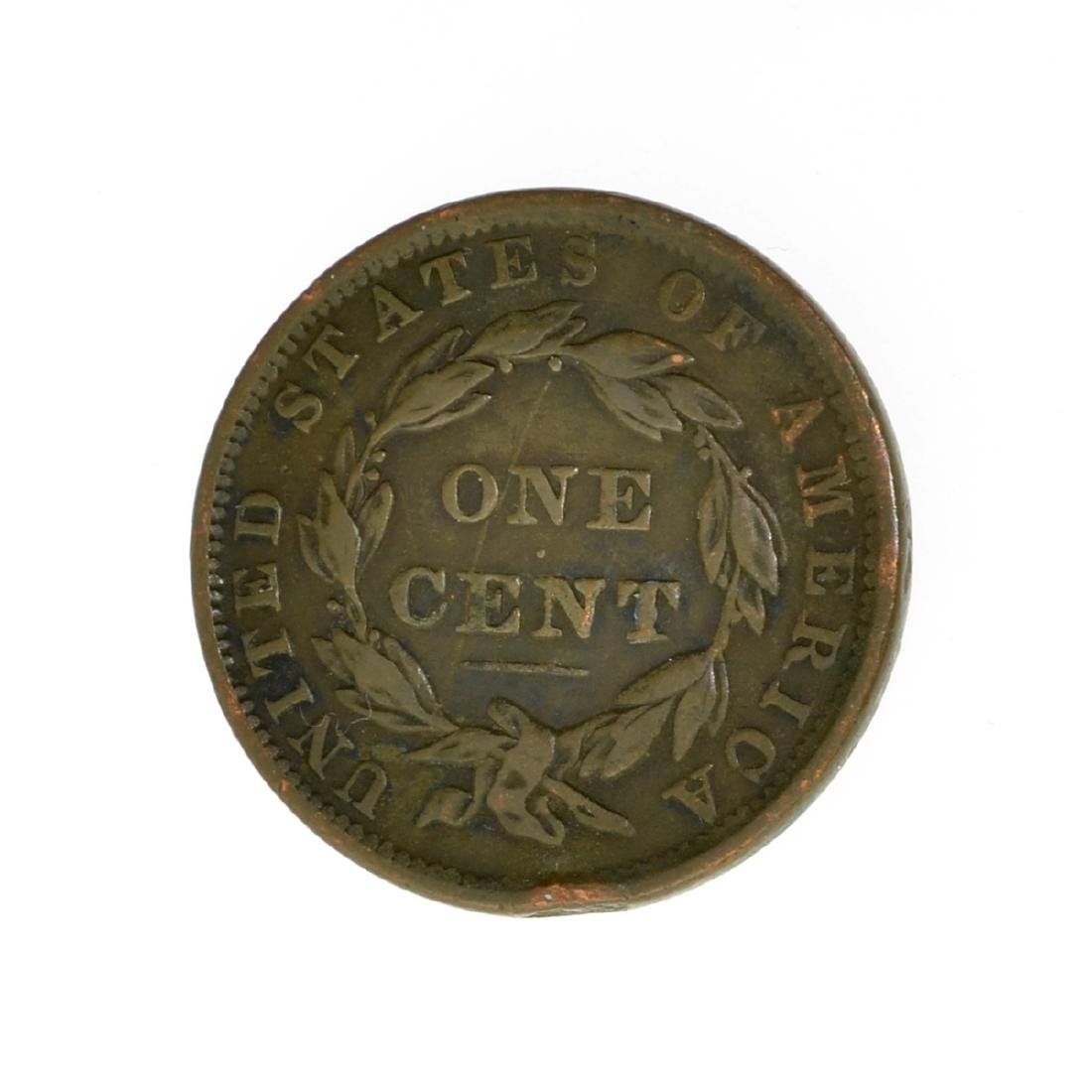 *1837 Large Cent Coin (JG) - 2