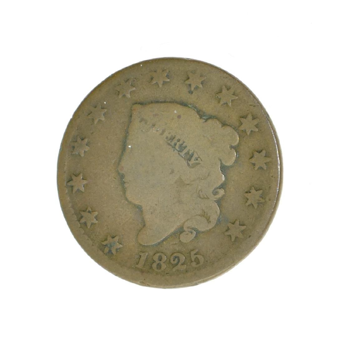 *1825 Large Cent Coin (JG)