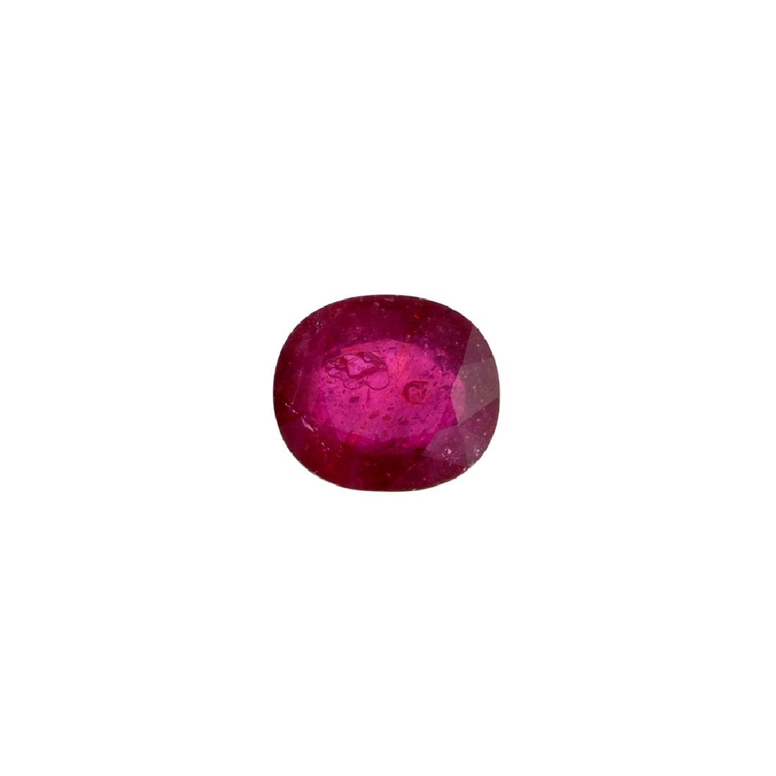 APP: 2.2k 8.97CT Oval Cut Ruby Gemstone