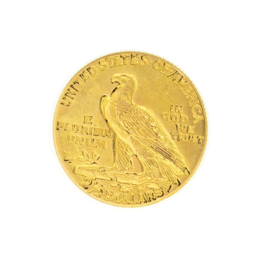 1913 $2.50 U.S. Indian Head Gold Coin - Great - 2