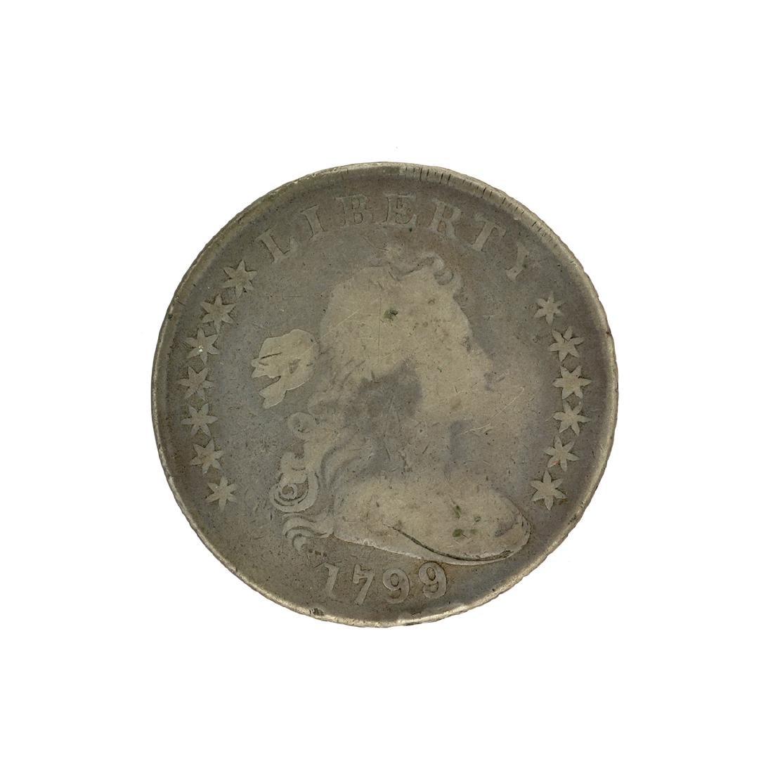 1799 Draped Bust Dollar Coin