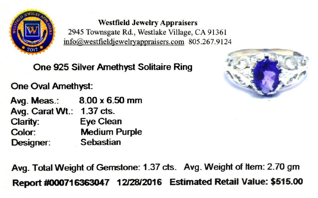 APP: 0.5k Fine Jewelry Designer Sebastian, 1.37CT Oval - 2
