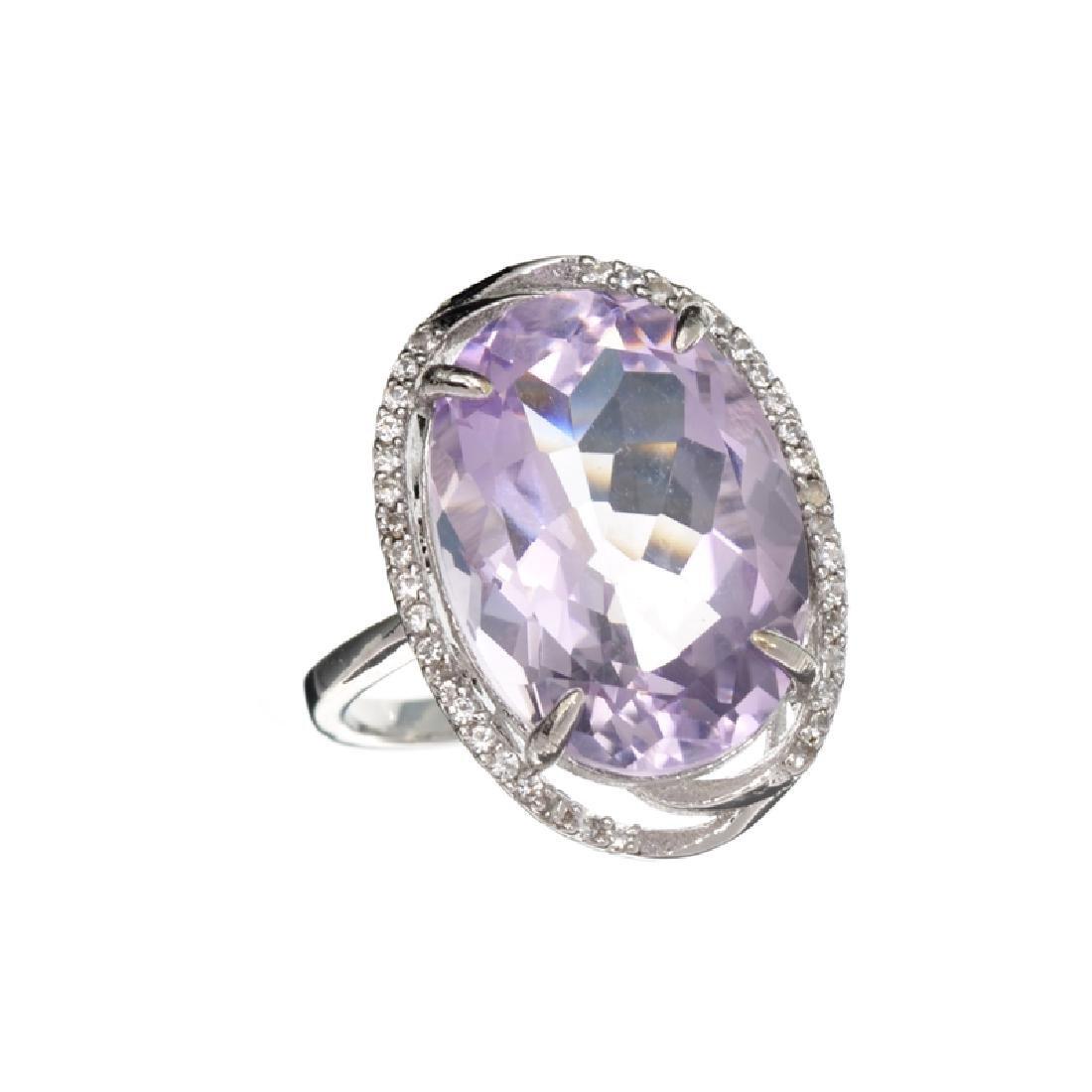 APP: 1.1k Fine Jewelry 11.50CT Purple Amethyst And