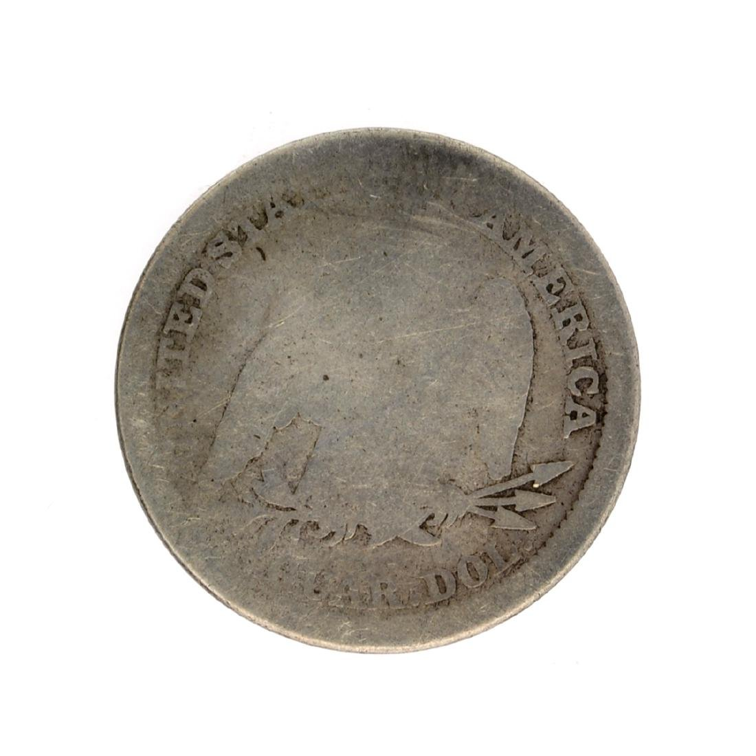 1854 Liberty Seated Arrows At Date Quarter Dollar Coin - 2