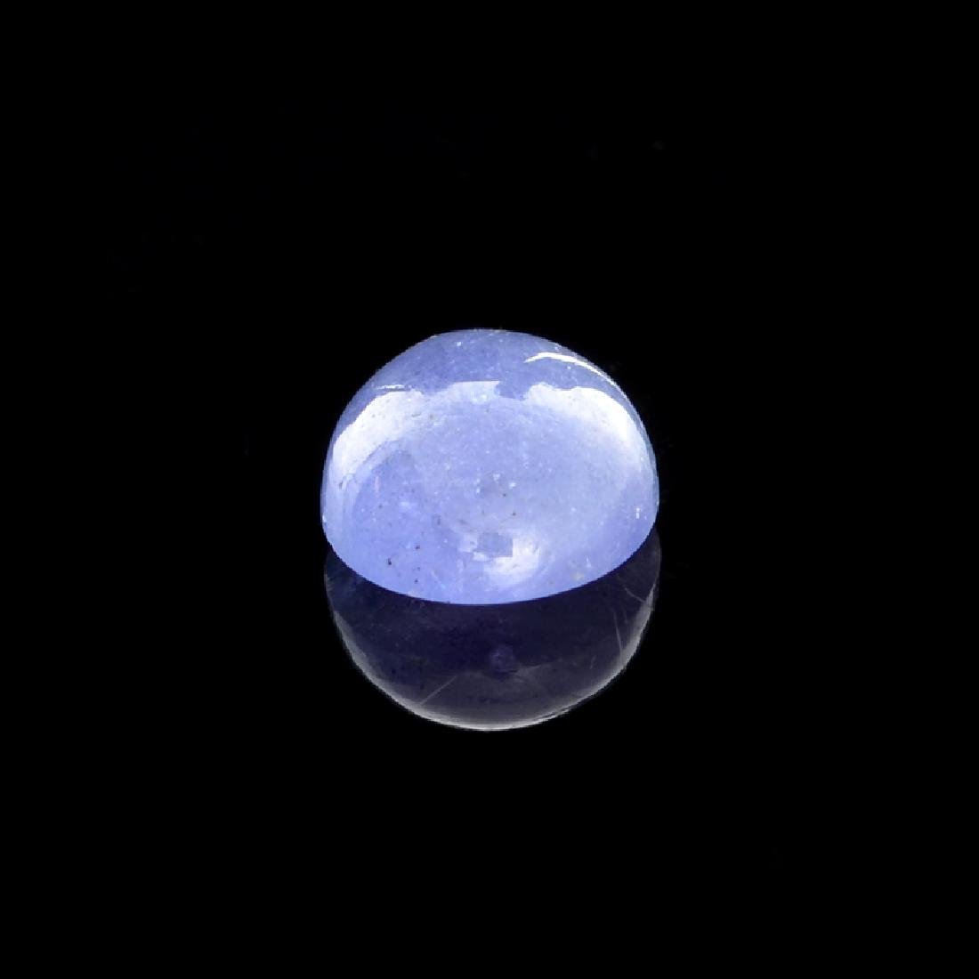 APP: 1k 3.20CT Natural Cabochon Tanzanite Gemstone