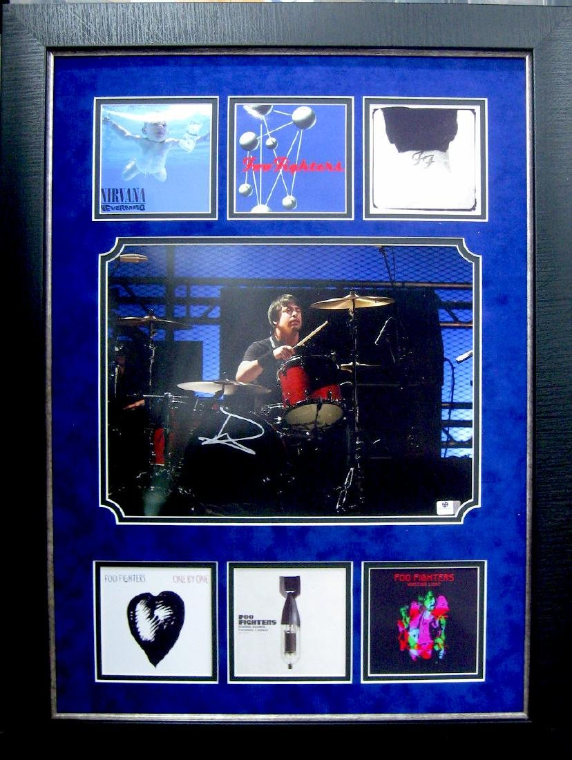 Dave Grohl Authentic Signature