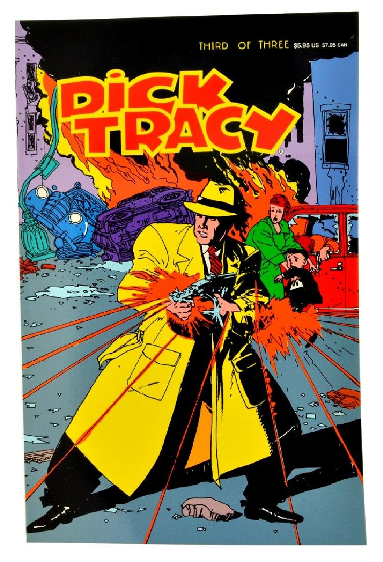 Dick Tracy (1990 Disney) Issue 3