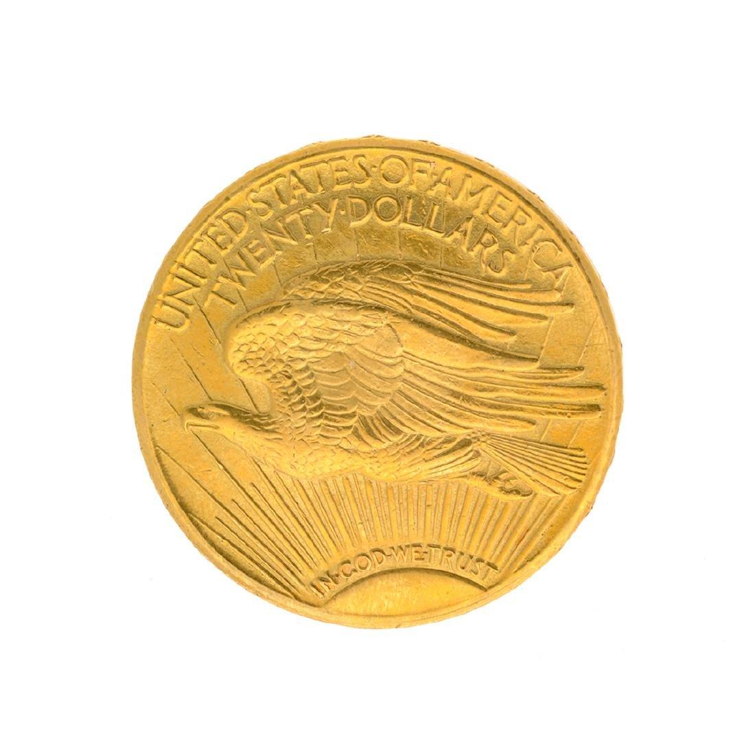 1911-D $20 St. Gaudens U.S. Gold Coin - 2