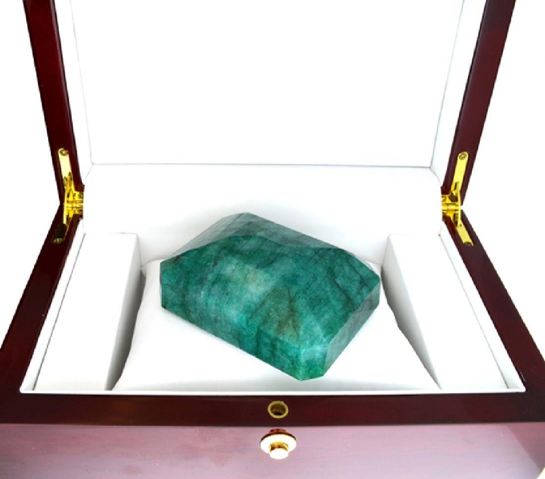 APP: 12.7k 1404.65CT Emerald Cut Emerald Beryl Gemstone - 2
