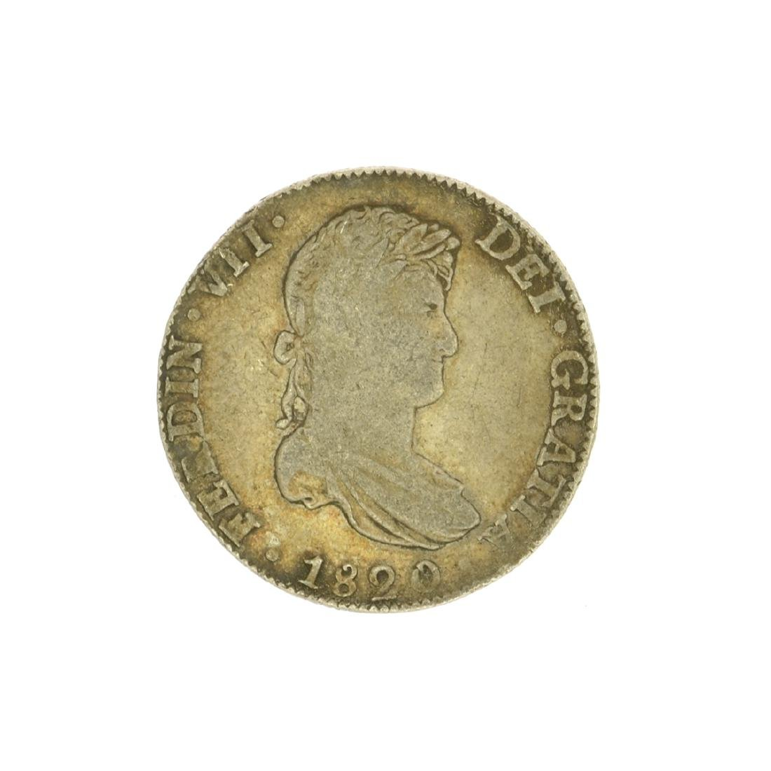 Extremely Rare Early Date 1820 Portrait Reales Very