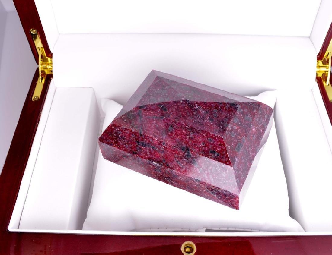 APP: 10k 2,010.50CT Rectangle Cut Ruby Gemstone - 2