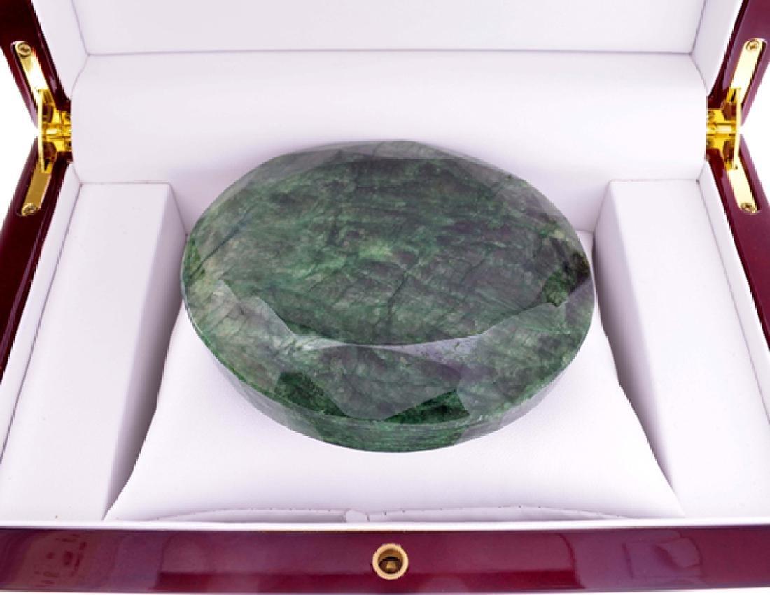 APP: 12.8k 1837.30CT Round Cut Green Beryl Emerald