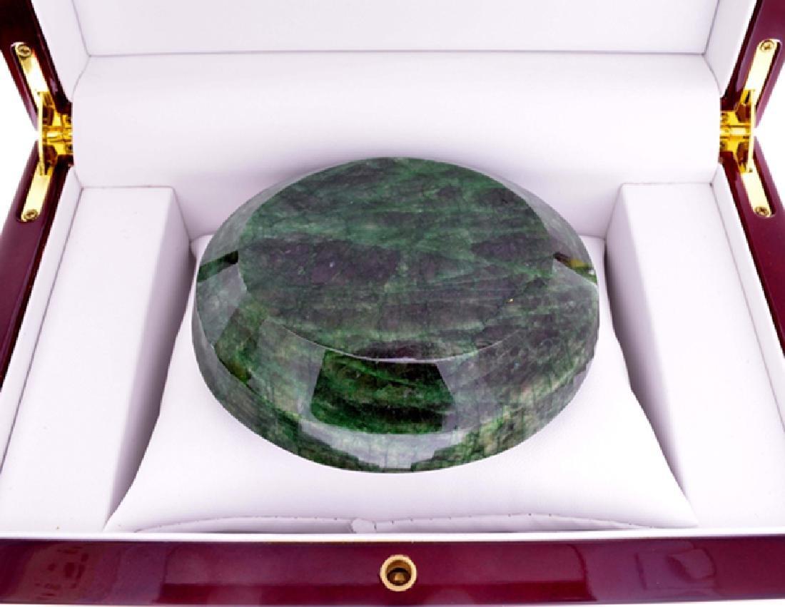 APP: 12.8k 1837.30CT Round Cut Green Beryl Emerald - 2