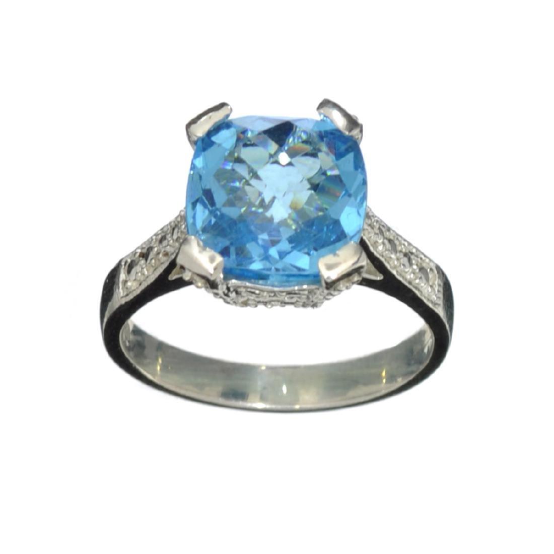 Fine Jewelry Designer Sebastian 4.25CT Square Cushion