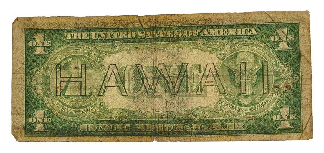 Rare 1935-S $1 U.S. Hawaii Note - 2