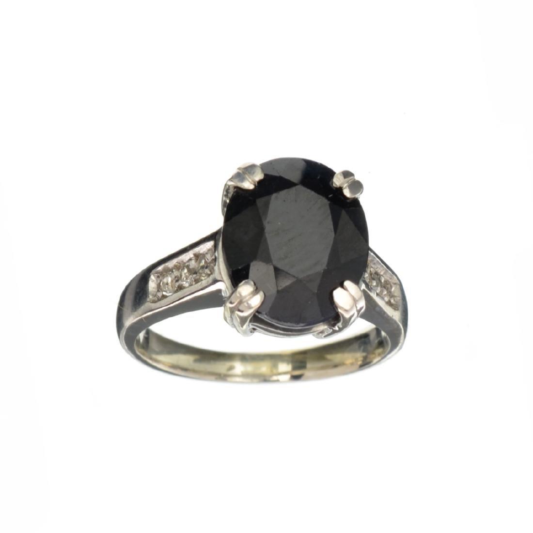 APP: 1.3k Fine Jewelry 4.48CT Dark Blue And White