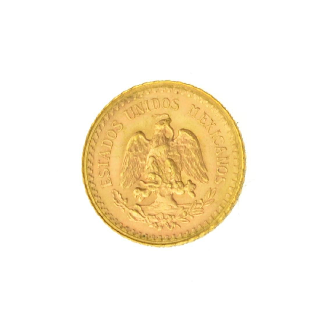 *1946 $2.50 Mexico Pesos  Gold Coin (JG) - 2