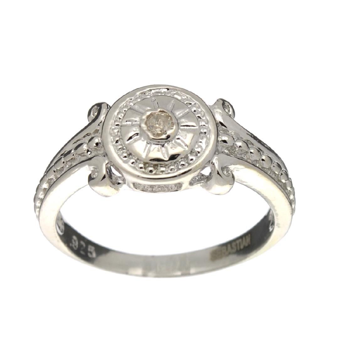 Fine Jewelry Designer Sebastian, White Sapphire And