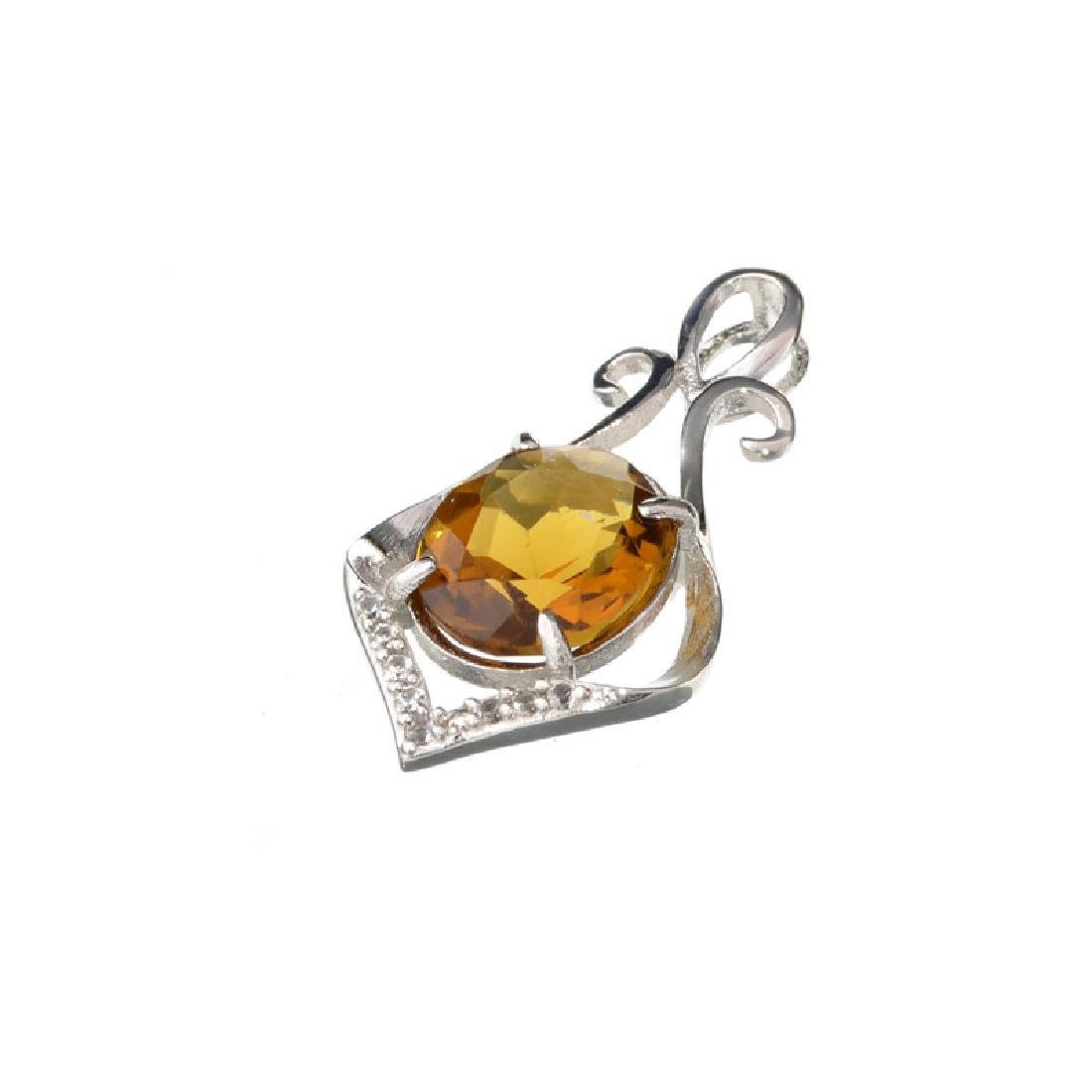 APP: 0.4k Fine Jewelry 3.00CT Oval Cut Citrine And